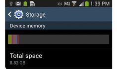 Samsung Galaxy S4 Internal Storage Issues