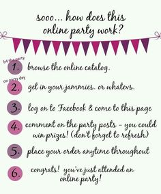 Online parties are fun & easy! You could also win free prizes! Book yours today! MorganG0210.jamberrynails.net: