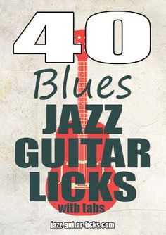 Jazz guitar ebook ev iin fikirler pinterest jazz guitar jazz 40 easy jazz blues guitar licks with tabs scale charts printable pdf ebook method to learn to play in the style of wes montgomery charlie christian fandeluxe Choice Image