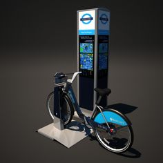 Barclays Cycle Hire Model available on Turbo Squid, the world's leading provider of digital models for visualization, films, television, and games. Models, 3d, Digital, Templates, Fashion Models
