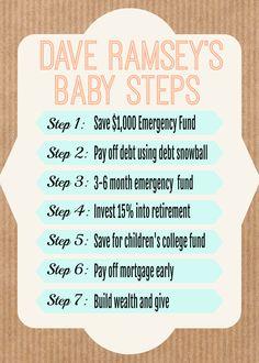 Dave Ramsey Investing, Dave Ramsey Debt Snowball, Money Makeover, College Fund, Budgeting Finances, Debt Free, Money Saving Tips, Managing Money, Saving Ideas