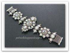 """eTutorial """"Venetian Mirrors"""" original bracelet by patrickduggandesigns"""