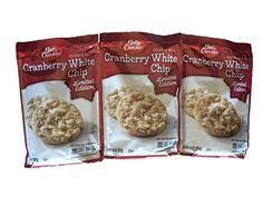 Betty Crocker Cranberry White Chip Cookie Mix 14 oz Pack of 3 -- Click image to review more details.