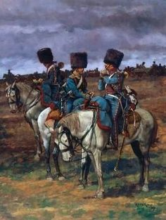 French Guard artillery trumpeters