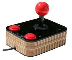 Black Retro Joystick