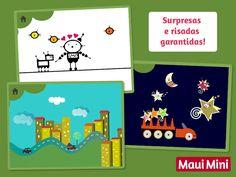Maui Mini App Jogos Educativos para bebês e criancinhas.