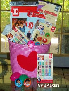 One Direction Gift Basket
