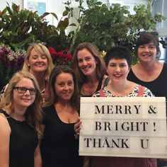 We'll that's a wrap for 2015.Thank you to everyone for their continued support of The Flower Dispensary.CustomersInstagram friendsour dedicated staffsupplierscourierscorporatesbrides I hope I haven't forgotten anyone.Wishing you and your families a very Merry & Safe Christmas & we look forward to seeing you in the New Year.We'll reopen on Tuesday 19th of January after our break.Enjoy the celebrations & stay safe x TFD Team