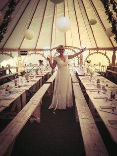 Wedding Yurt inspiration