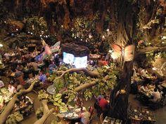 Rainforest Cafe in Las Vegas