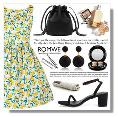 """Romwe 3. / IV"" by amra-sarajlic ❤ liked on Polyvore featuring MAC Cosmetics, BOBBY and romwe"