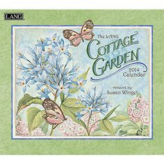 Susan Winget Cottage Garden 2014 Wall Calendar