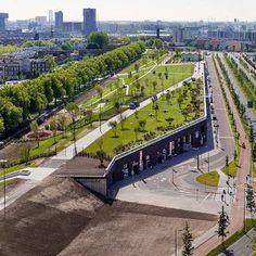 로테르담 루프 파크는 로테르담 중심가로 부터 멀지 않은 곳에 자리한 no-man's land에 위치, '4개 항구'로 불리우는 재개발 사업의 일환으로 진행된다. 이 재개발 사업은 총 85,000sqm 면적에 사무공간, 상점,..
