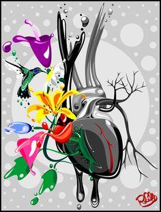 THE BLACK HEART » Florais