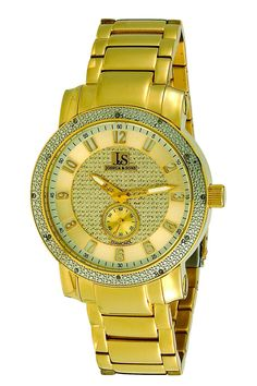$140 JackThreads - Stainless Steel Diamond Watch by Joshua & Sons - Join Now: http://www.jackthreads.com/invite/tobytoby7