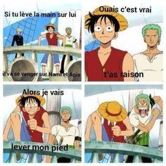 Il a raison lol One Piece Comic, One Piece Meme, One Piece Funny, Zoro One Piece, One Piece Manga, Mom Jokes, Funny Jokes, One Piece Fairy Tail, Manga Anime