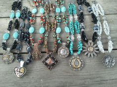 Pennie makes the most Beautiful Western Necklaces! Check her out on Facebook! Pennie Wrapped Western  Wire Art Jewelry.