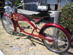 Bicycle Stand, Cruiser Bicycle, Lowrider Bicycle, Chopper Bike, Bike Style, Super Bikes, Motorcycle Bike, Vintage Bikes, Kustom