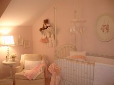 Soft Pink, Cream and White Nursery - New Pictures Added 11/18