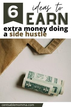 Perhaps you want to have some extra money each month to use towards your goals (or you just need some extra money to pay back debt).  Check out these 6 ideas to earn extra money doing a side hustle for some business ideas you can do in your spare time. #earnmoney #sidehustle #financialgoals Financial Goals, Financial Planning, Debt Repayment, Money In The Bank, Start Writing, Extra Money, Crafts To Sell, Personal Finance, Business Ideas