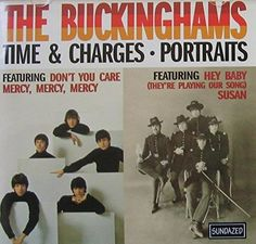 """BUCKINGHAMS ~ 1999 commercial stock CD (Sony-Sundazed SC 11073) containing their great 1967 and 1968 albums in LIKE-NEW COND. (no marks, no scratches, no finger prints).  Looks like new...plays like new.  Contains 24 great tracks, including the 4 big hits """"Don't You Care"""", """"Mercy, Mercy, Mercy"""", """"Hey Baby (They're Playing Our Song)"""", and """"Susan"""".  ($39.99)  Amazon.com / eBay.com / Etsy.com"""