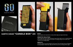 WWF Earth Hour: Candle Box #Hatalska