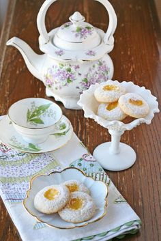Glorious Treats » Lemon Thumbprint Cookies {Recipe}
