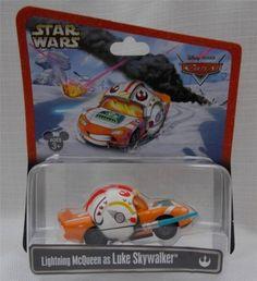Disney-Parks-Star-Wars-Cars-Lightning-McQueen-as-Luke-Skywalker-X-Wing-Pilot