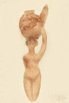 Nude Woman Carrying Vase on Head (1909) by Auguste Rodin. Original from The National Gallery of Art. Digitally enhanced by rawpixel. | free image by rawpixel.com / National Gallery of Art (Source) Auguste Rodin, Woman Illustration, National Gallery Of Art, Good Cause, Modern Sculpture, Free Illustrations, Antique Art, Free Images, Cool Designs