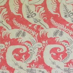 B. Berger 2168 NANTUCKET RED Fabric