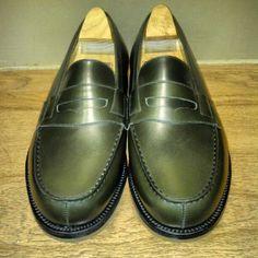 Shoes Men, Men's Shoes, Dress Shoes, Penny Loafers, Loafers Men, Weston Shoes, Brown Leather Loafers, Shoe Closet, Men's Accessories