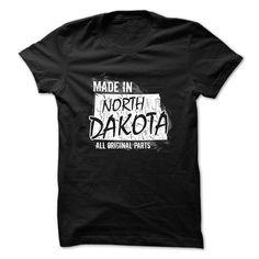 North Dakota t-shirt - Made in North Dakota T Shirt, Hoodie, Sweatshirt
