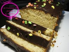 Cake au lait ribot et sa ganache au chocolat 2w