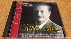 ALFREDO KRAUS / HOMENAJE A UNA VOZ / CD - 9 TEMAS / MUY BUENA CALIDAD.