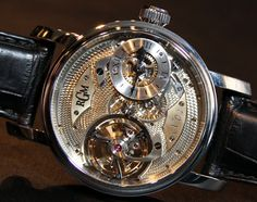 RGM Pennsylvania Tourbillon Watch Hands-On | aBlogtoWatch