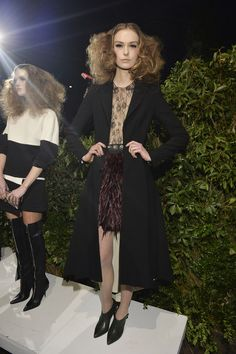 Alice + Olivia Fall 2014 Runway Pictures - StyleBistro