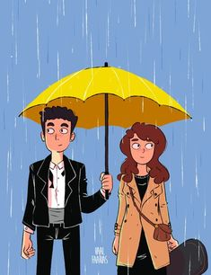 Finally I finished this fanart. I owed some friends an illustration of HIMYM Series Movies, Movies And Tv Shows, Tv Series, Ted Mosby, Yellow Umbrella, Mother Art, Himym, I Meet You, Cute Illustration