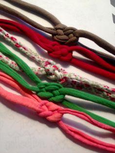 Yoga knot headbands
