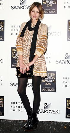 Alexa chung seriously has the most fabulous dresses. Anyone know who makes this?