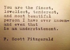 Love,    F. Scott Fizgerald