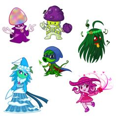 Here is continuous Mistrica ( Missile Toe Hero ) Permanita Angellirosa ( Perfume-shroom Hero ) Shadow Archer ( Gr. Plant Zombie, Zombie 2, P Vs Z, Chibi Characters, Fictional Characters, Zombie Birthday Parties, Dragon City, Marceline, Halloween