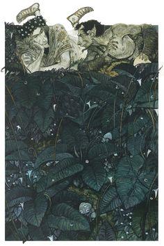 In People, Character, Anthropomorphism. Midsummer Night'S Dream, painting by Svetlin Vassilev. Image #268400