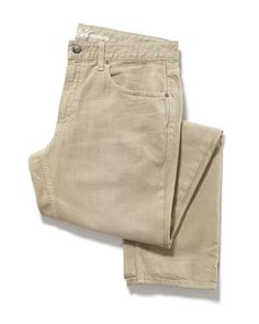 BRUNSWICK OVERDYE JEAN - SLIM - KHAKI #MensJeans #MensWear