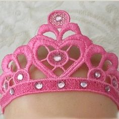 FSL Tiara - 5x7 | What's New | Machine Embroidery Designs | SWAKembroidery.com Mar Lena Embroidery