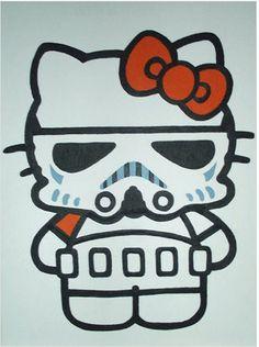 Hello Storm Trooper Kitty