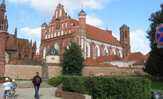 St. Francis and Bernardine's monastery in Vilnius, Lithuania