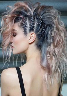 45 gorgeous side braids with high ponytails in 2018 braids gorgeous high ponytails side 27 elegant side braid ideas to style your long hair Hair Inspo, Hair Inspiration, Curly Hair Styles, Hair Ponytail Styles, Fast Hairstyles, Hairstyles Pictures, Side Braid Hairstyles, Faux Hawk Hairstyles, Updo Hairstyle