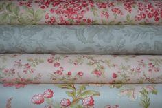 LOT DE 4 Coupons DE Tissu Patchwork Moda Shabby Rose ET Gris 24x55cm   eBay