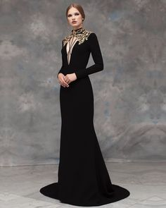 Rayane Bacha Fall/Winter Collection Source Source by vivaring Kleider Style Haute Couture, Couture Fashion, Runway Fashion, Fashion 2020, Fall Fashion, Photo Glamour, Fantasy Gowns, Vestidos Vintage, Black Wedding Dresses