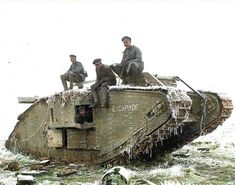 During the First World War, this British tank was captured by the Germans. Ww1 History, Military History, Ancient History, World War One, First World, Ww1 Pictures, Ww1 Tanks, Tank Armor, History Online